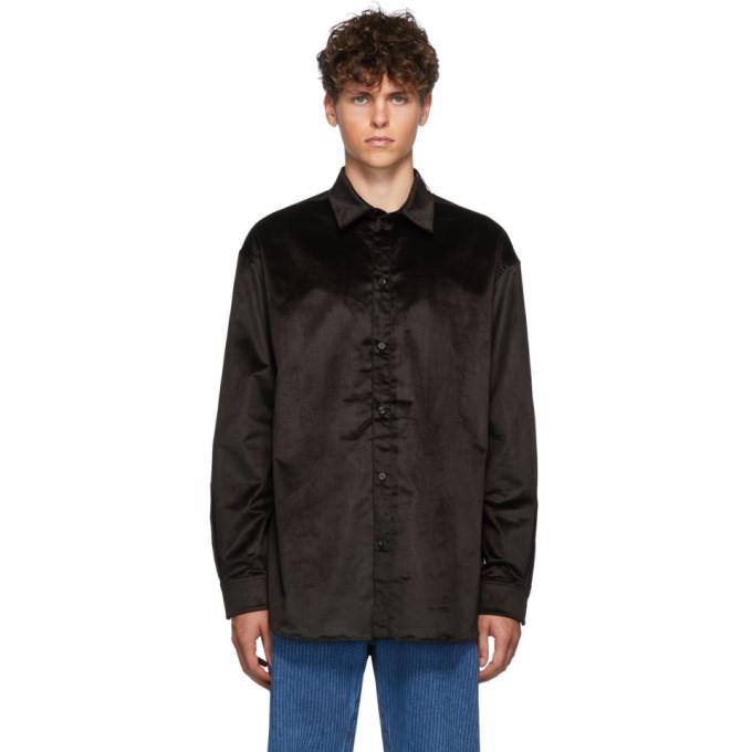 Y/Project Chemise en coton noire