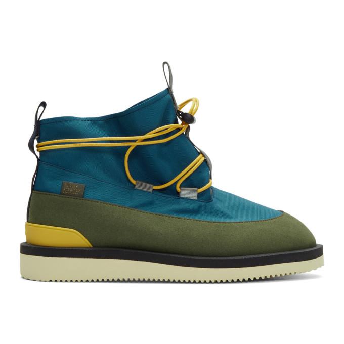 Aime Leon Dore Blue Suicoke Edition Hobbs Boots