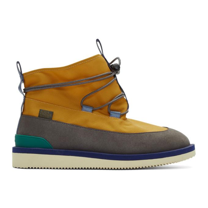 Aime Leon Dore Yellow Suicoke Edition Hobbs Boots