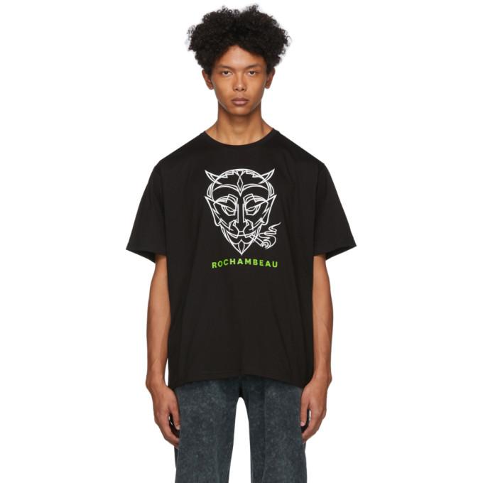 Rochambeau T-shirt noir Devil Core