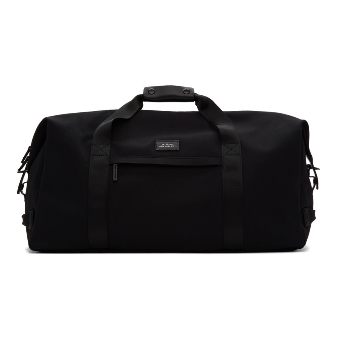 Saturdays Surf Nyc Bags SATURDAYS NYC BLACK NORFOLK HOLD ALL BAG