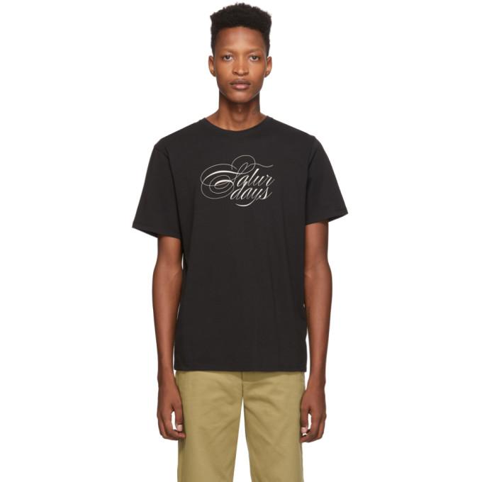 Saturdays NYC T-shirt noir Middle Script