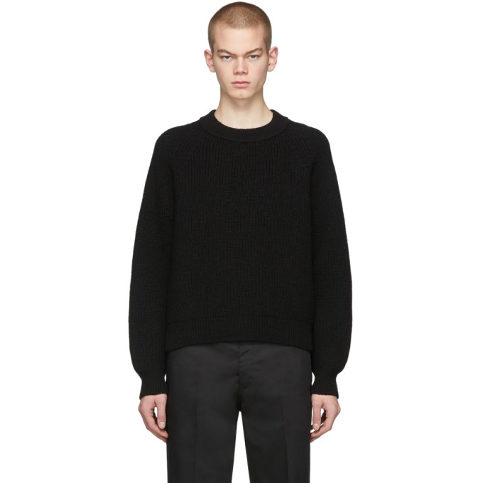 Second/Layer Pull a manches raglan noir Boxed