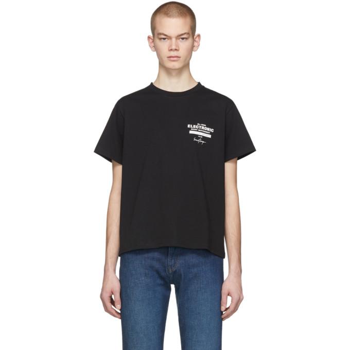 Second/Layer T-shirt noir EBM Lock Up