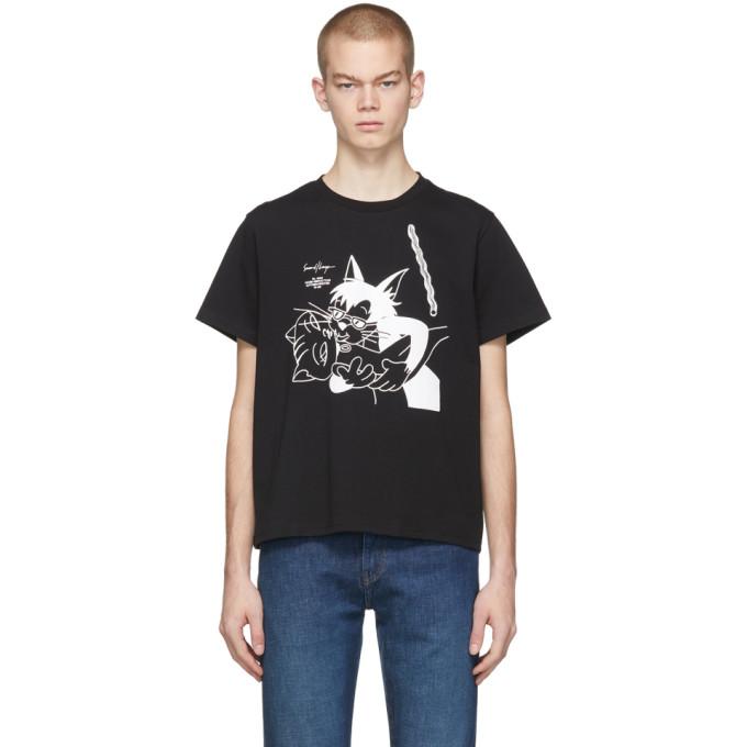 Second/Layer T-shirt noir Hepcat