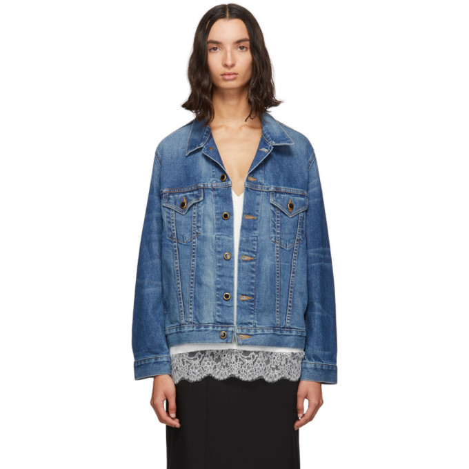 Khaite Blue Cate Jacket