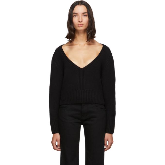 Khaite Black Charlette Sweater
