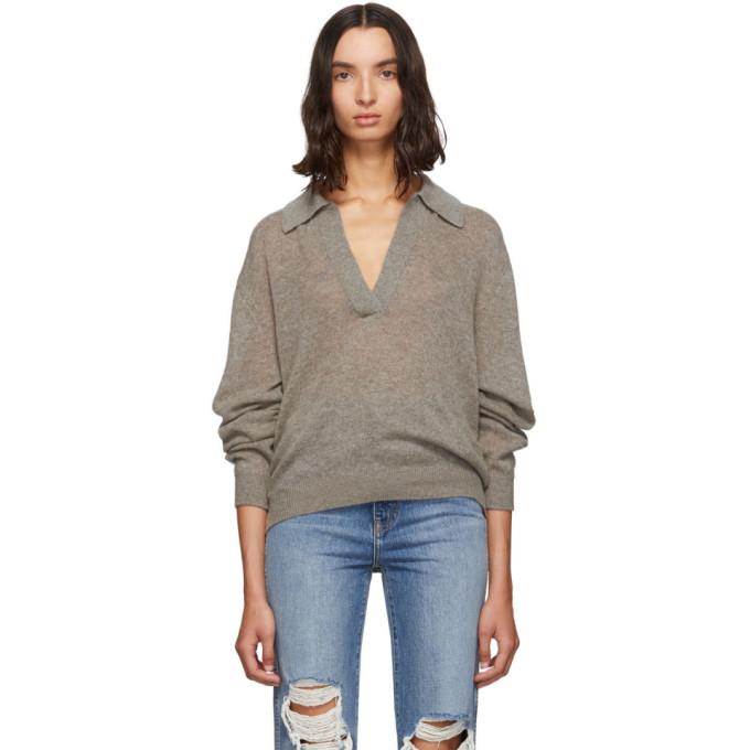 Khaite Grey Jo Sweater