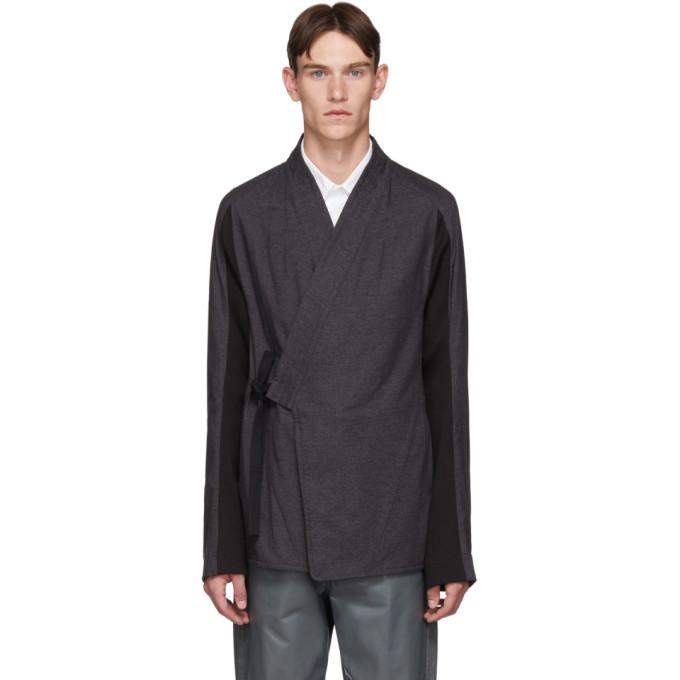Abasi Rosborough Cardigan gris ARC Kimono Shirt edition limitee