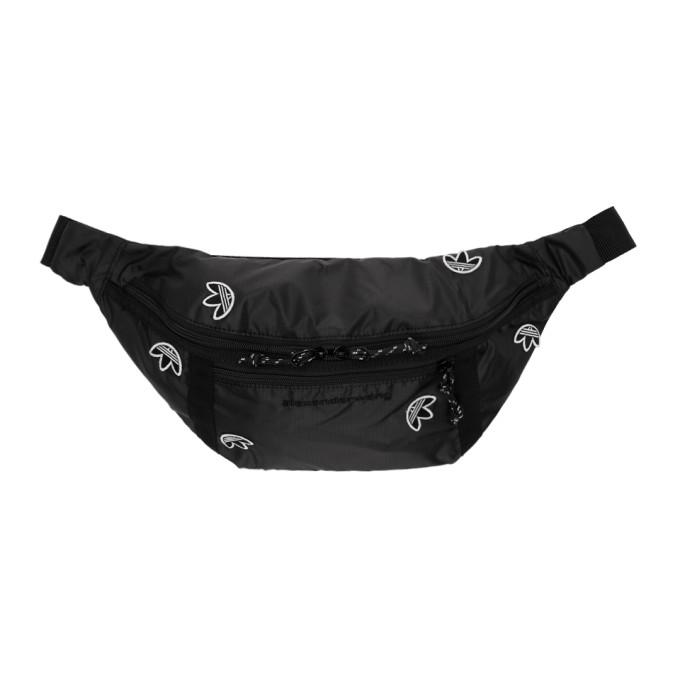 Adidas Originals By Alexander Wang Bags ADIDAS ORIGINALS BY ALEXANDER WANG BLACK LOGO BUM BAG