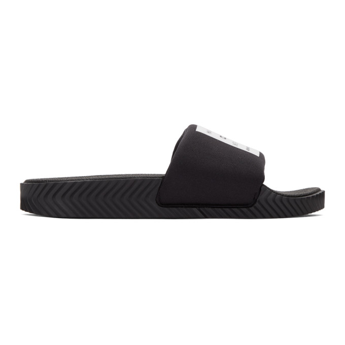 Adidas Originals By Alexander Wang Sandals ADIDAS ORIGINALS BY ALEXANDER WANG BLACK LYCRA ADILETTE SANDALS