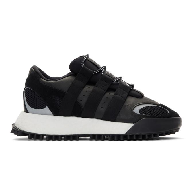 adidas Originals by Alexander Wang Black Wangbody Run Sneakers