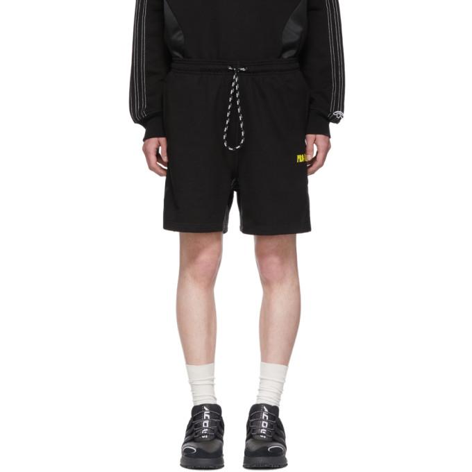 ADIDAS ORIGINALS X ALEXANDER WANG | Adidas Originals By Alexander Wang Black Wangbody Shorts | Goxip