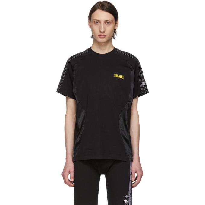 ADIDAS ORIGINALS X ALEXANDER WANG | Adidas Originals By Alexander Wang Black Wangbody T-Shirt | Goxip