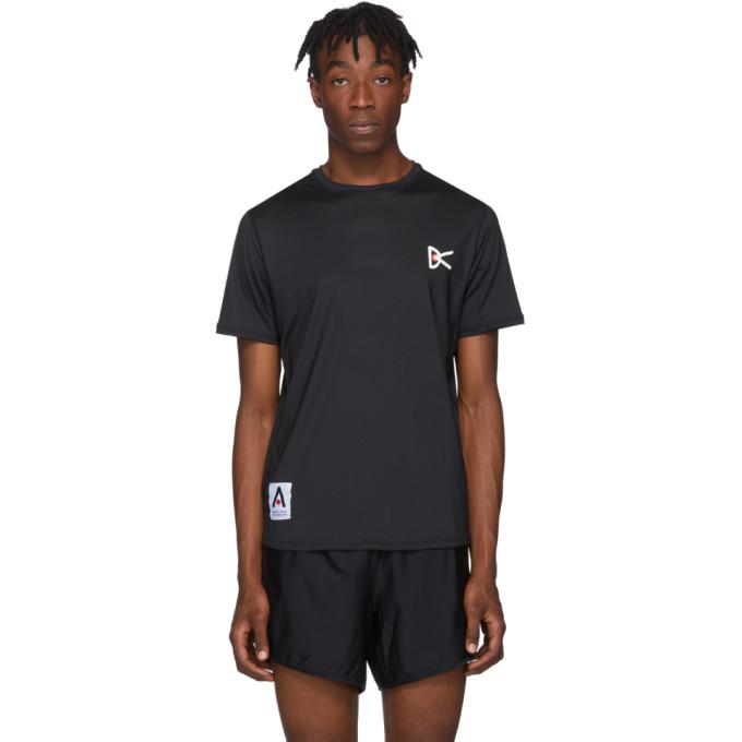 District Vision T-shirt noir Air-Wear
