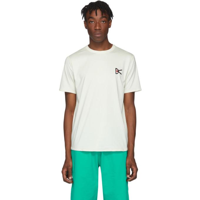 District Vision T-shirt blanc casse Air-Wear