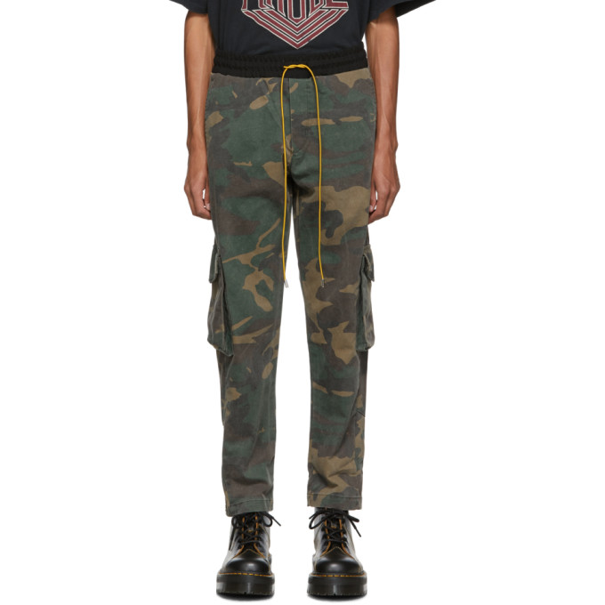 Rhude Multicolor Camo Rifle 2 Trousers