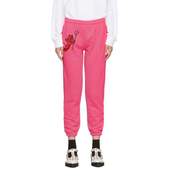 Ashley Williams Pantalon de survetement rose Cherub Devil Jogger