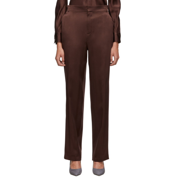Joseph Brown Silk Trousers