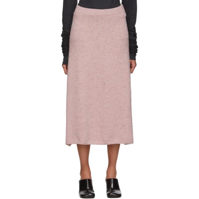 Joseph Pink Tweed Skirt