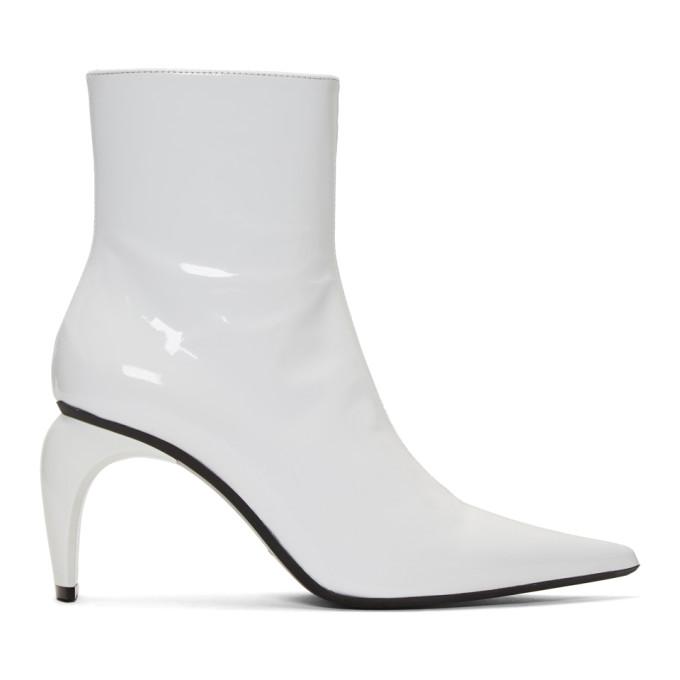 MISBHV White Vinyl Slicer Boots