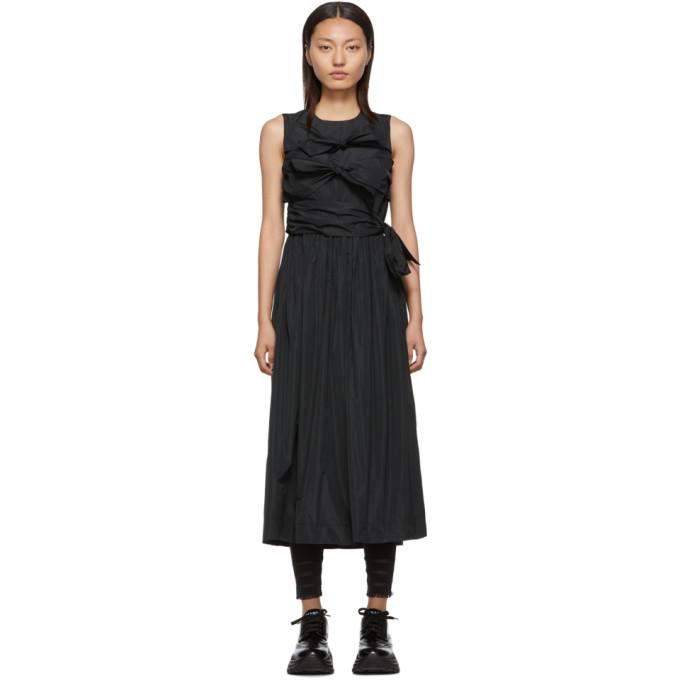 Molly Goddard Robe noire Iona