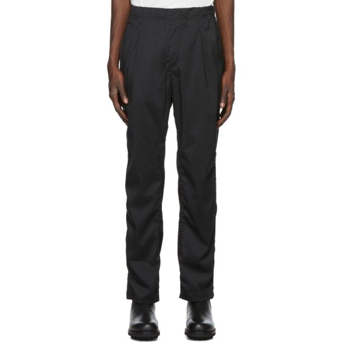 nonnative Pantalon de survetement noir Manager
