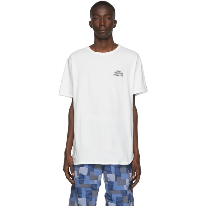 nonnative White Museum T-Shirt