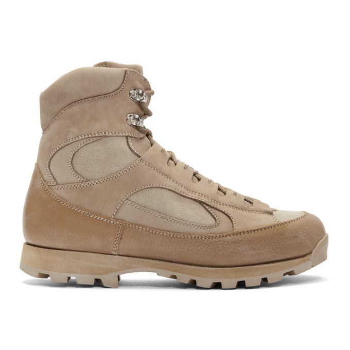 nonnative Beige Alpinist Boots