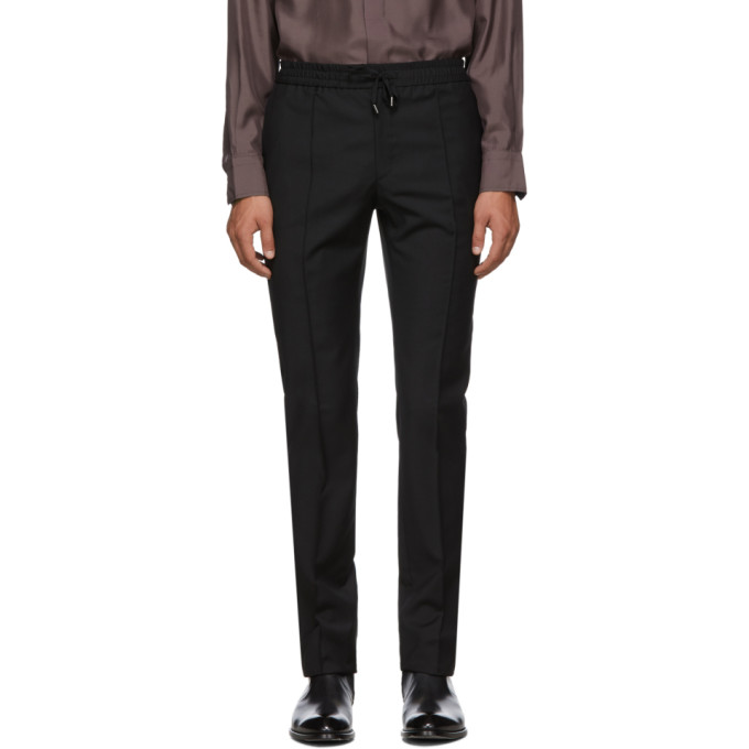 Brioni Pantalon noir Sidney