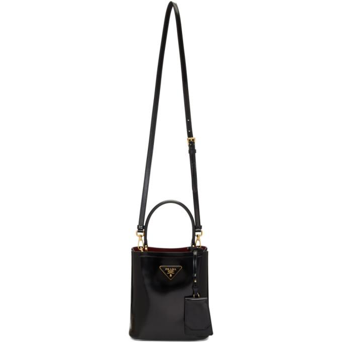 Prada Black Bucket Bag In F0Me5 Black