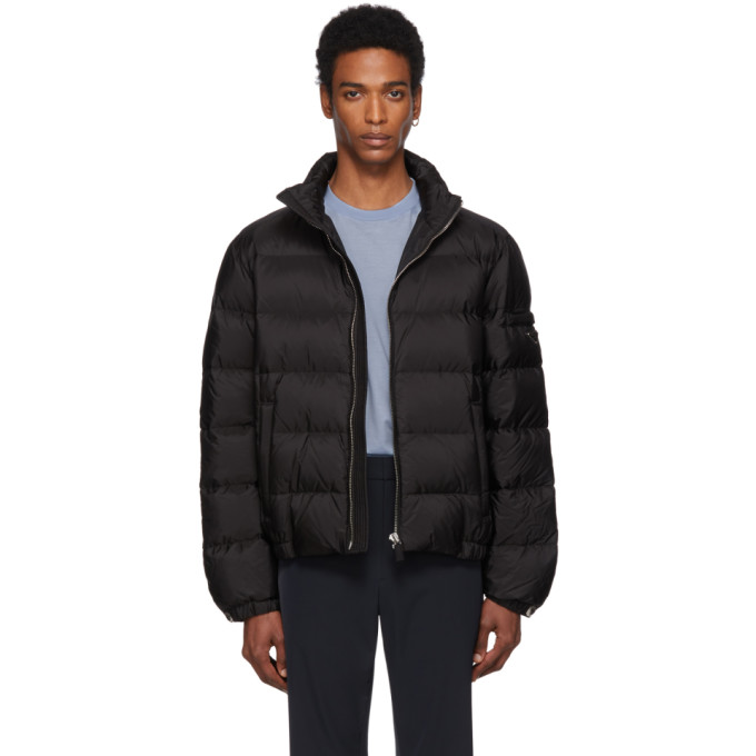 PRADA | Prada Black Down Nylon Jacket | Goxip