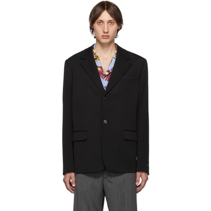 Prada Black Wool Blazer