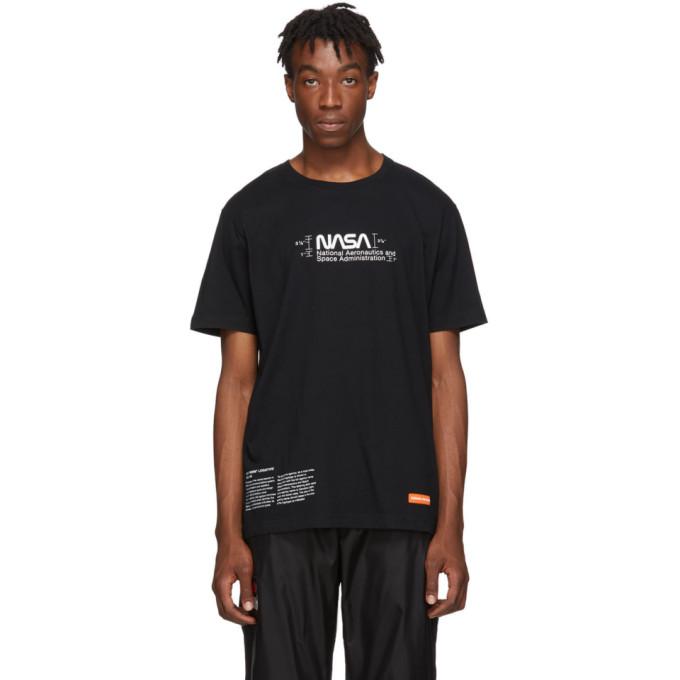 Heron Preston Black Regular Manual T-Shirt