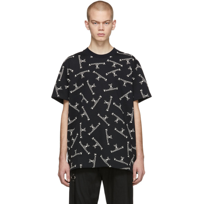 mastermind WORLD T-shirt a logo noir Crew