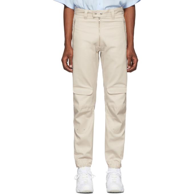 GmbH Pantalon en serge beige Yolanda