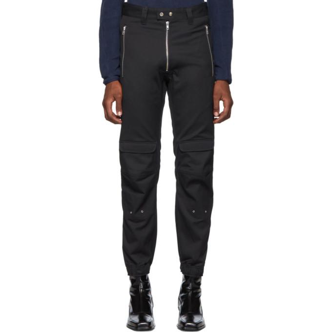 GmbH Pantalon en serge bleu marine Yolanda