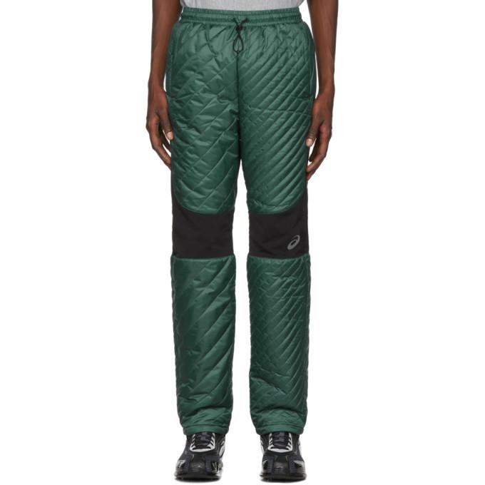 Kiko Kostadinov Pantalon de survetement isole vert edition Asics