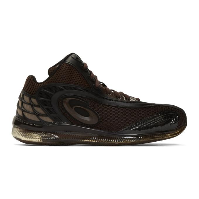 Kiko Kostadinov Brown Asics Edition Gel-Sokat Infinity 2 Sneakers