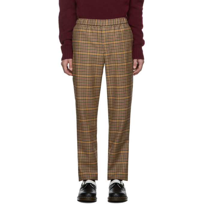 Schnaydermans Pantalon multicolore Overcheck