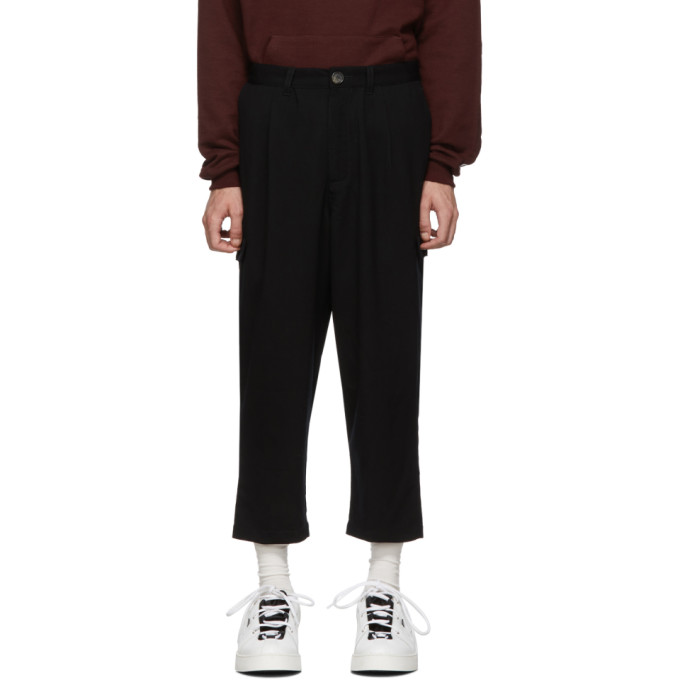 Landlord Pantalon noir High-Water