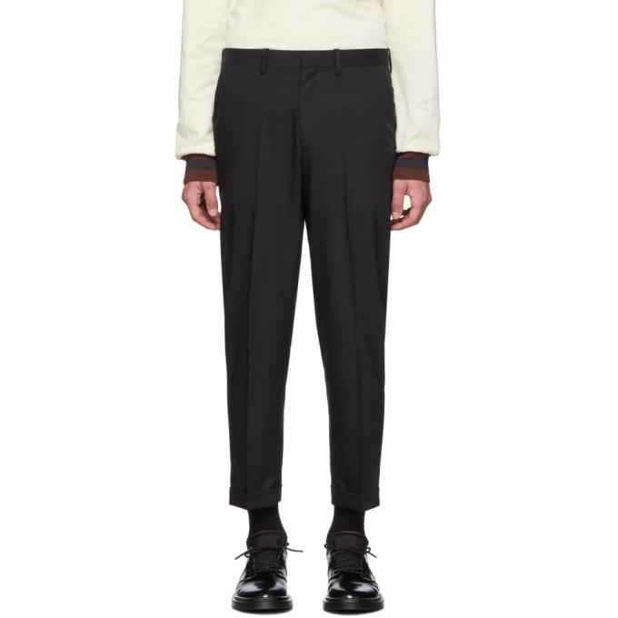 N.Hoolywood Pantalon ecourte noir