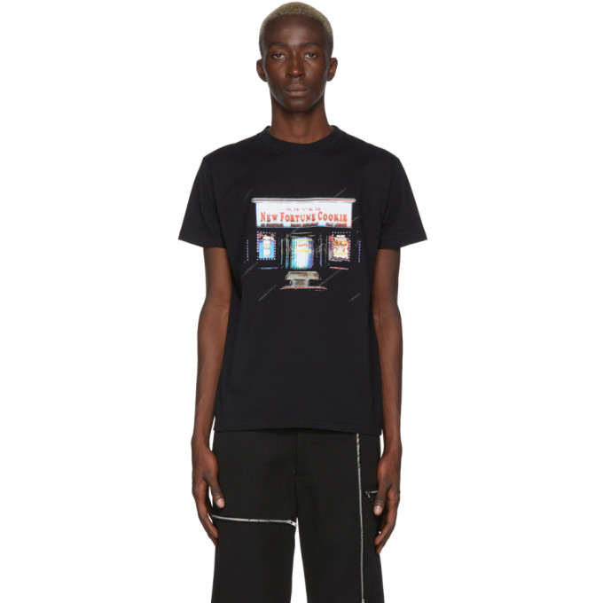 N.Hoolywood T-shirt noir New Fortune Cookie