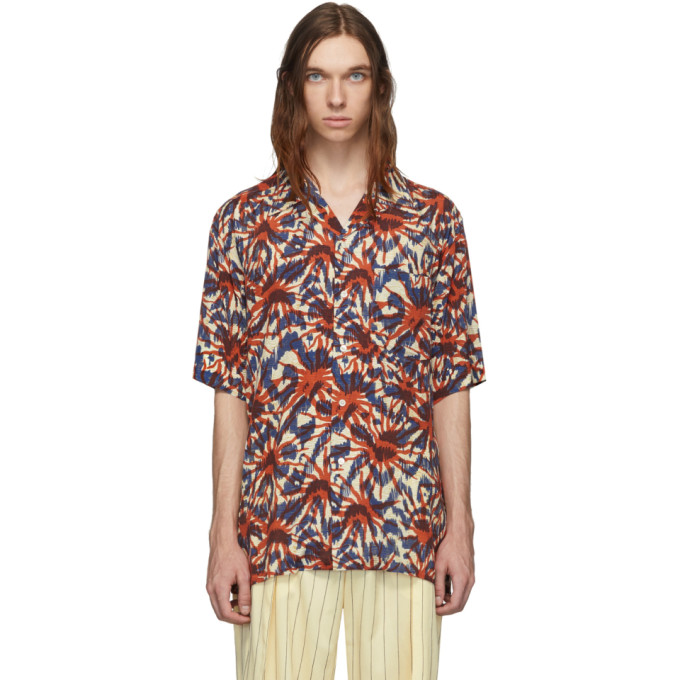HOPE Chemise multicolore Print Camp