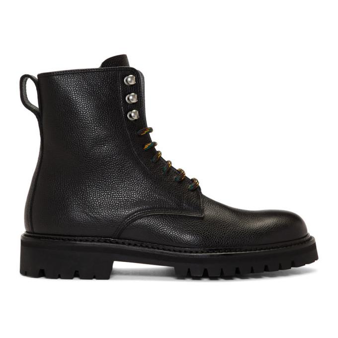 HOPE Black Log Boot Man Boots
