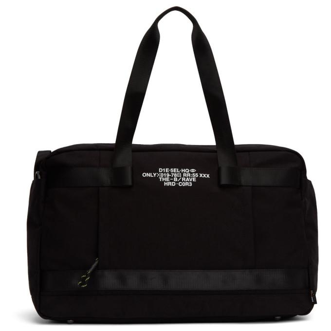 Diesel Black Soligo Travel Bag