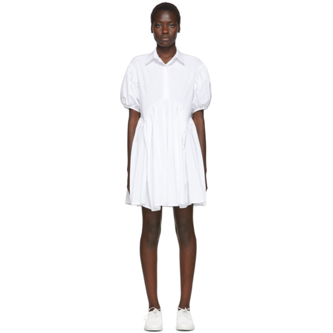 Cecilie Bahnsen Robe blanche Esther