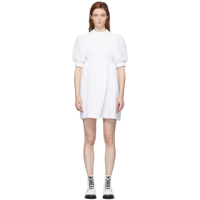 Cecilie Bahnsen Robe blanche Uma