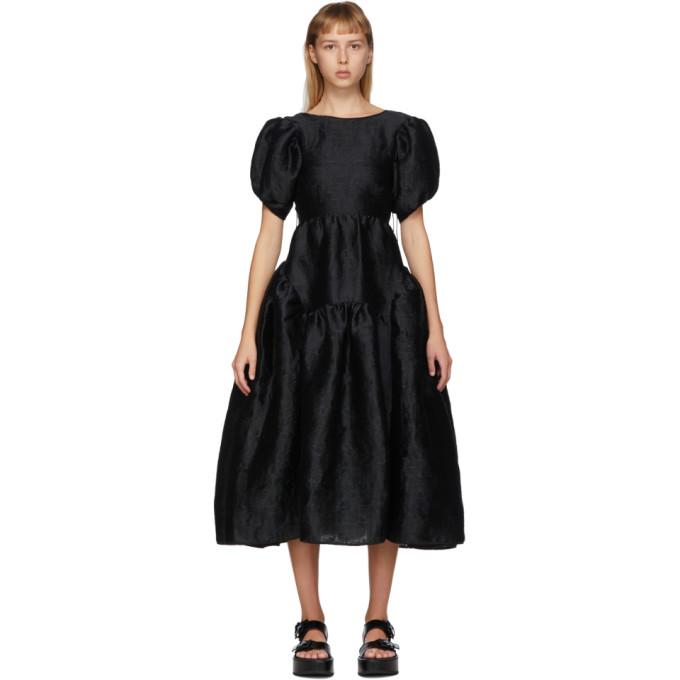 CECILIE BAHNSEN CECILIE BAHNSEN BLACK KATRINE DRESS