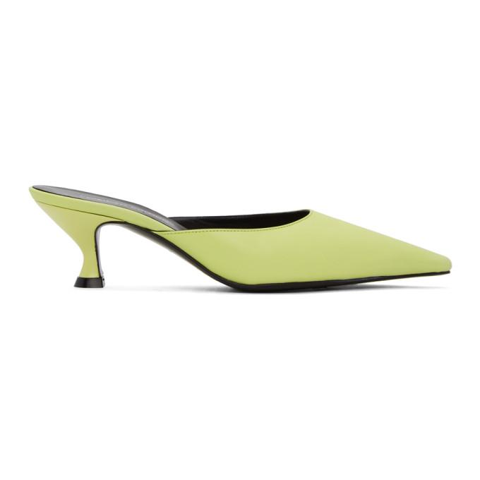 Buy Kwaidan Editions Green Kitten Heel Mules online
